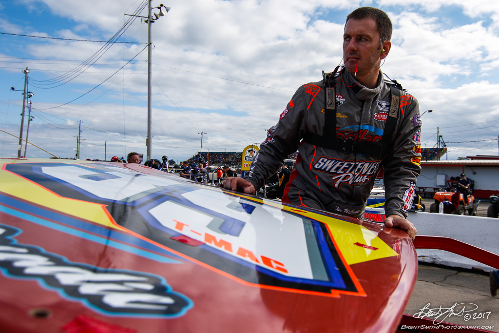 Billy Whittaker Cars 200 - NAPA Auto Parts Super DIRT Week XLVI - Oswego Speedway - 39 Tim McCreadie