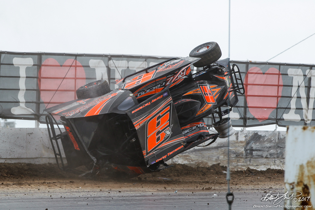 Billy Whittaker Cars 200 - NAPA Auto Parts Super DIRT Week XLVI - Oswego Speedway - 66x Carey Terrance