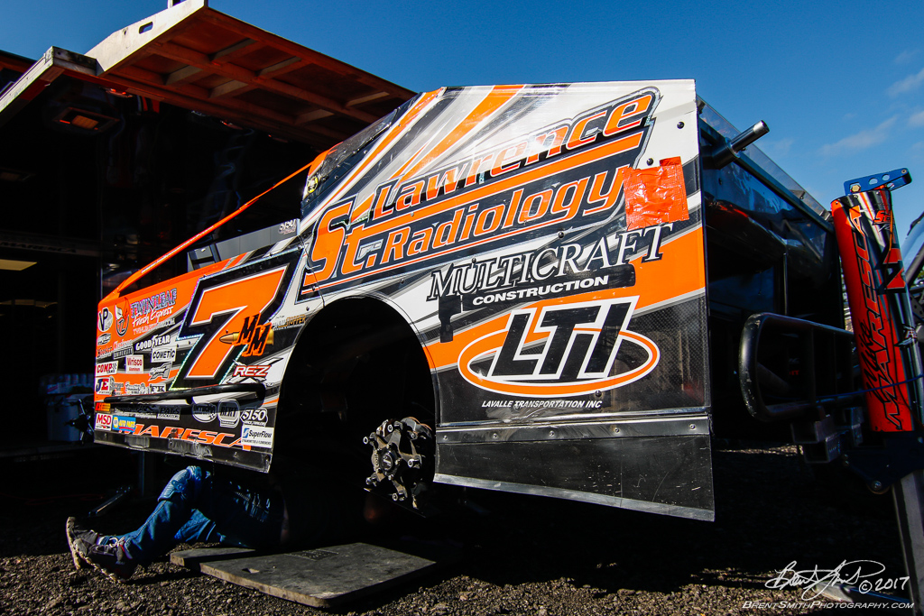 Billy Whittaker Cars 200 - NAPA Auto Parts Super DIRT Week XLVI - Oswego Speedway - 7m Mike Maresca