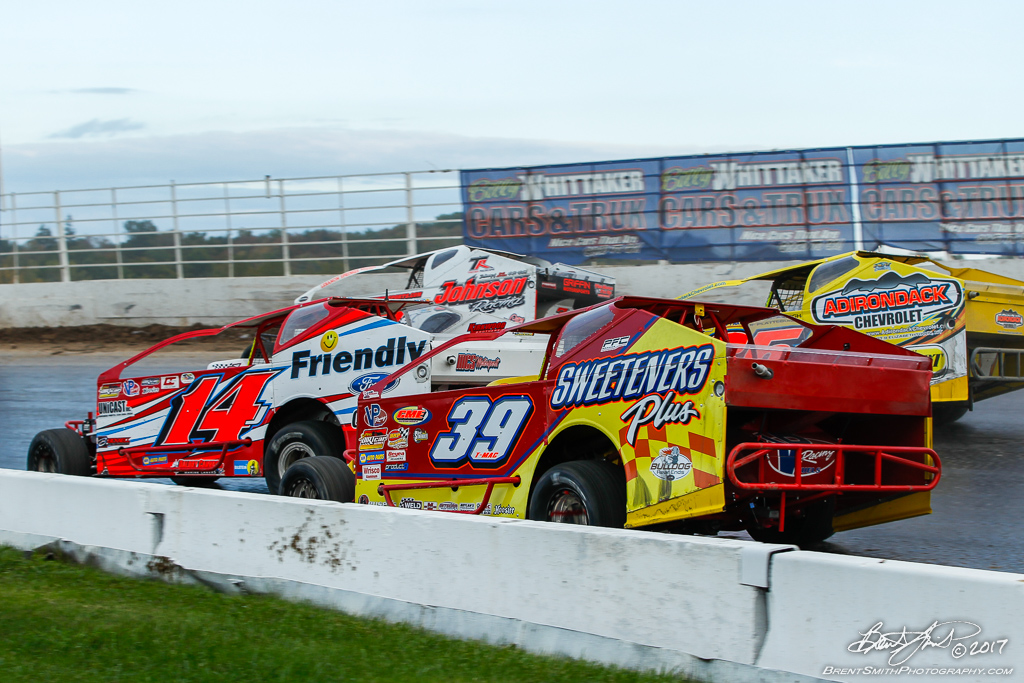 Billy Whittaker Cars 200 - NAPA Auto Parts Super DIRT Week XLVI - Oswego Speedway - 39 Tim McCreadie, 14j Alan Johnson