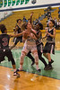 Indianapolis City Girls Basketball Tournament, between Heritage Christian Lady Eagles and the Tindley Lady Tigers held at the Cathedral High School Gym, in Indianapolis, IN. Photo by EricThieszen.