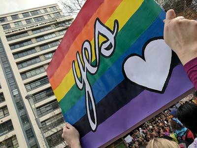 20170826 Wedding equality march