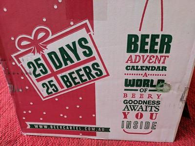 20171225 Beer Advent calendar