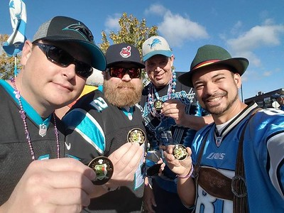 Panthers @ Lions 8 October 2017
