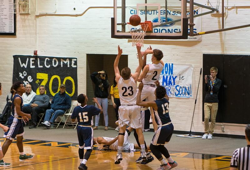 Pen Hi Basketball 2-21-17-21
