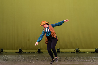 Hillbilly Girl Tap Solo - Julia O.
