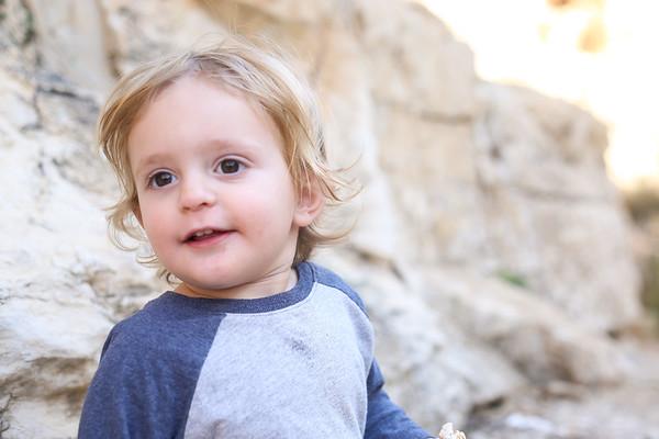 Raphael 2 weeks, E 18 months