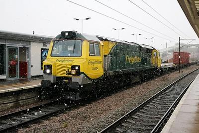 70004 1051/4z89 Crewe-Felixstowe