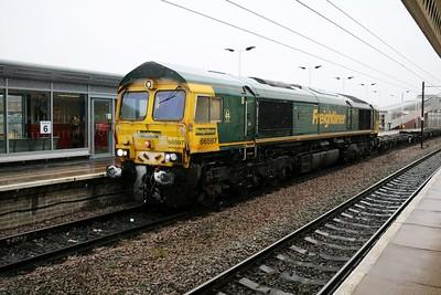 66597 0952/4z41 Crewe-Felixstowe arrives 30 early