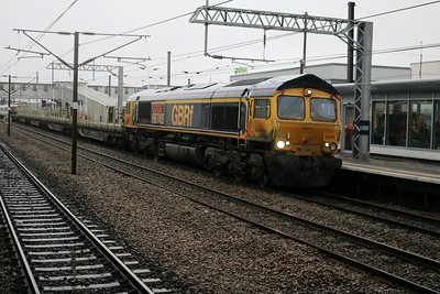 66745 0939/6x71 Dollands Moor-Hornsey with New Unit 700050 on delivery