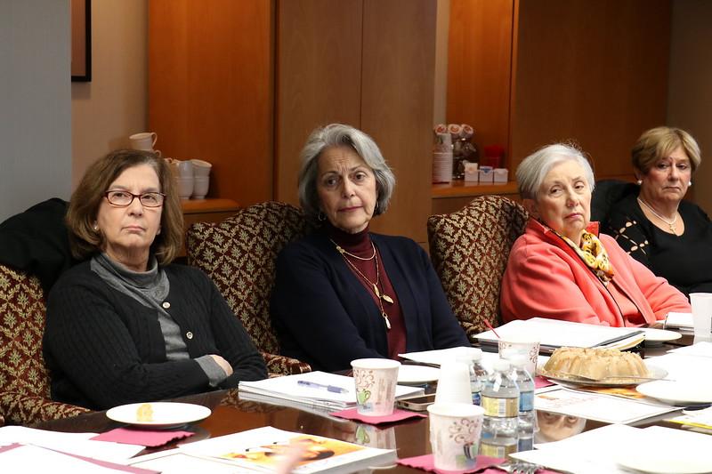 Philoptochos Board Meeting
