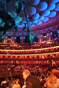 At the Royal Albert Hall