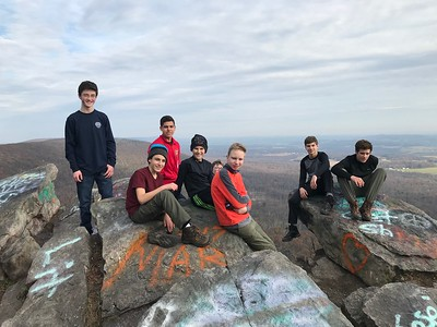 Backpacking on the Appalachian Trail - Thanksgiving 2017