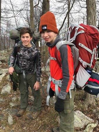 Backpacking on the Appalachian Trail Thanksgiving 2017
