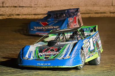Josh Richards (1) and Brandon Sheppard (1)