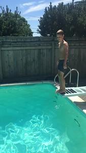 Zero splash! A 10!