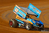 Pennsylvania Sprint Car Speedweek - Port Royal Speedway - 69K Lance Dewease