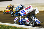 dirt track racing image - Pennsylvania Sprint Car Speedweek - Port Royal Speedway - pasw