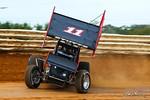 dirt track racing image - Pennsylvania Sprint Car Speedweek - Port Royal Speedway - 11 TJ Stutts