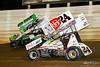 50th Annual Tuscarora 50 - All Star Circuit of Champions - Port Royal Speedway - 24 Lucas Wolfe, 3 Tim Kaeding