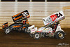 50th Annual Tuscarora 50 - All Star Circuit of Champions - Port Royal Speedway - 24 Lucas Wolfe, 2M Kerry Madsen