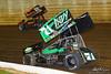 50th Annual Tuscarora 50 - All Star Circuit of Champions - Port Royal Speedway - 71 Joey Saldana, 2M Kerry Madsen