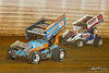 50th Annual Tuscarora 50 - All Star Circuit of Champions - Port Royal Speedway - 69K Lance Dewease, 29 Danny Dietrich