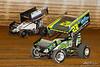 50th Annual Tuscarora 50 - All Star Circuit of Champions - Port Royal Speedway - 27 Greg Hodnett, 99 Brady Bacon
