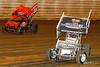 50th Annual Tuscarora 50 - All Star Circuit of Champions - Port Royal Speedway - 48 Tony Stewart, 49x Tim Shaffer