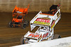 50th Annual Tuscarora 50 - All Star Circuit of Champions - Port Royal Speedway - 21 Brian Brown, 49x Tim Shaffer