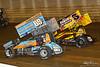 50th Annual Tuscarora 50 - All Star Circuit of Champions - Port Royal Speedway - 69K Lance Dewease, 5 Dylan Cisney