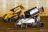 50th Annual Tuscarora 50 - All Star Circuit of Champions - Port Royal Speedway - 5 Dylan Cisney, 99 Brady Bacon