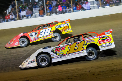 Jared Hawkins (11) and Tim McCreadie (39)