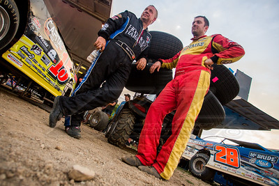 Steve Francis (L) and Tim McCreadie (R)