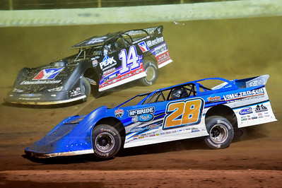 Dennis Erb, Jr. (28) and Darrell Lanigan (14)