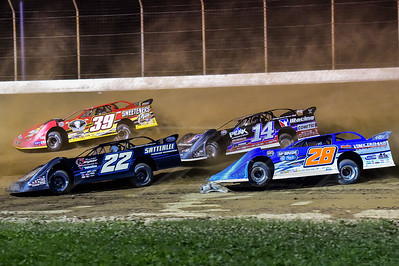 Gregg Satterlee (22), Tim McCreadie (39), Dennis Erb, Jr. (28) and Darrell Lanigan (14)