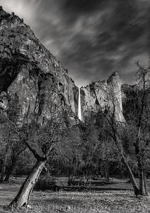 Bridalveil Falls, Yosemite Valley