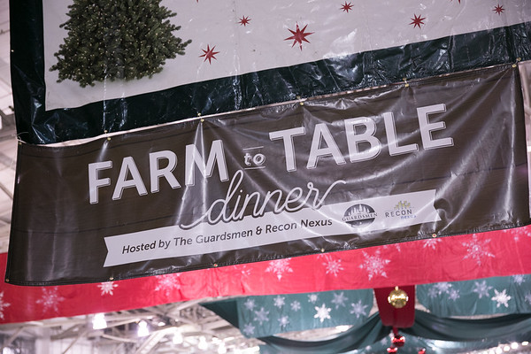 2017.11.30 The Guardsmen Tree Lot Farm to Table Dinner