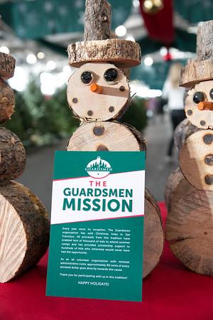 2017.12.01 The Guardsmen Tree Lot Kids Day