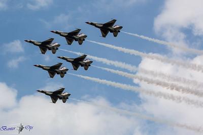 Thunderbirds B 100717 EGUL
