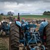 Match ploughing beneath Kilburn White Horse, North Yorkshire Moors.