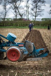 Ransomes vintage plough