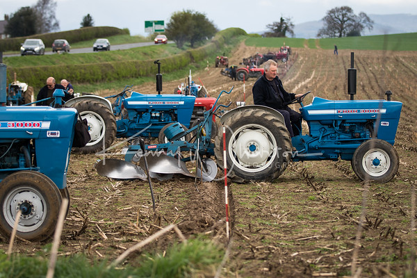 Ford 3000 and Ransomes plough
