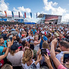27/05/2017 - Bermuda (BDA) - 35th America's Cup Bermuda 2017 - Louis Vuitton America's Cup Qualifiers, Day 1 - Crowds in the Opening day of the Village