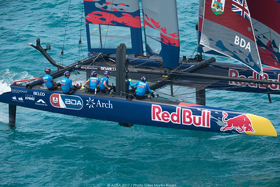 21/06/2017 - Bermuda (BDA) - 35th America's Cup 2017 - Red bull America's Cup Final