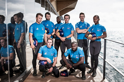 09/06/2017 - Bermuda (BDA) - 35th America's Cup Bermuda 2017 - Team BDA of Bermuda. Skippered by Mackenzie Cooper with team mates Peter Dill, Philip Hagen, Mustafa Ingham, Danny Pell, Owen Siese, Dimitri Stevens, Shomari Warner, and Cecilia Wollmann. The Red Bull Youth America's Cup in Hamilton, Bermuda on June 9, 2017
