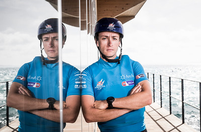 09/06/2017 - Bermuda (BDA) - 35th America's Cup Bermuda 2017 - Team BDA of Bermuda. Skipper Mackenzie Cooper . The Red Bull Youth America's Cup in Hamilton, Bermuda on June 9, 2017