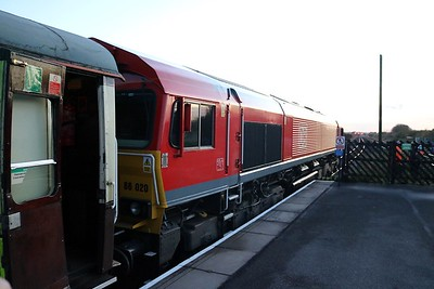 66020 seen at Barnetby on a pathing stop on the way back.