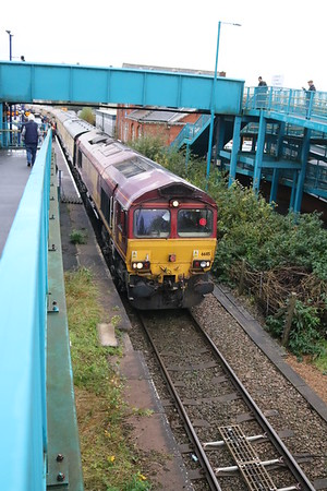 66115 seen on a pathing stop at Barnetby.