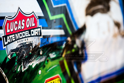 Lucas Oil Late Model Dirt Series decal